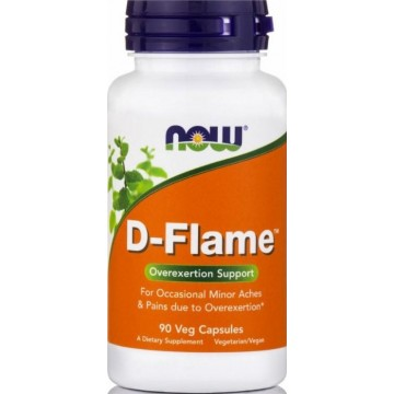 D-FLAME (Cox-2 & 5-Lox Enzyme Inhibitor Formula) NOW FOODS 90vcaps ΑΡΘΡΙΤΙΔΑ - ΟΣΤΕΟΑΡΘΡΙΤΙΔΑ