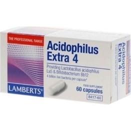LAMBERTS  ACIDOPHILUS EXTRA 4 (ΠΡΟΒΙΟΤΙΚΟ) 60caps