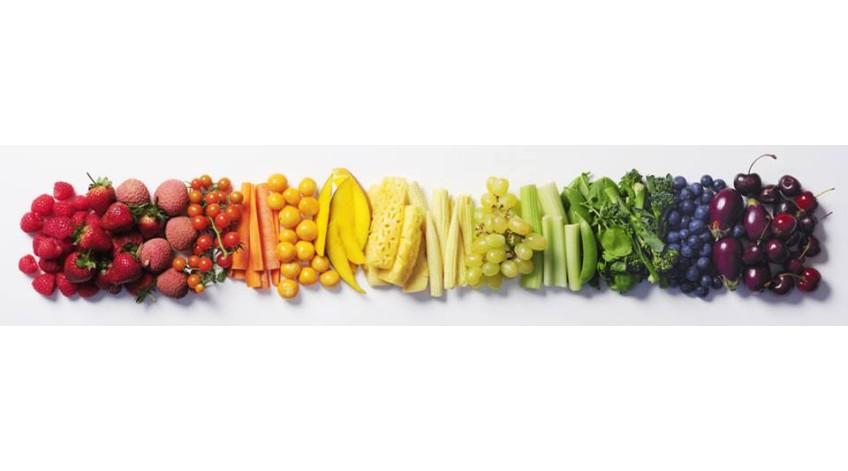 ΚΟΚΚΙΝΟ, ΚΙΤΡΙΝΟ, ΠΡΑΣΙΝΟ, ΜΠΛΕ...χρωματίστε το πιάτο σας!