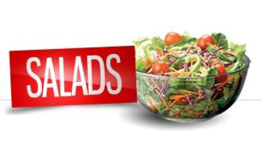 5 συνταγές για σαλάτες...με «σωστές» θερμίδες!