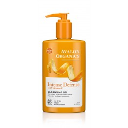 INTENSE DEFENSECLEANSING GEL WITH VITAMIN C (ΑΦΡΙΖΟΝ ΤΖΕΛ ΚΑΘΑΡΙΣΜΟΥ) AVALON 251ml AVALON ORGANICS