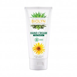 HAND CREAM WITH ARNICA (ΚΡΕΜΑ ΧΕΡΙΩΝ ΜΕ ΑΡΝΙΚΑ) BIOLYN 100ml BIOLYN PURE ORGANIC PRODUCTS