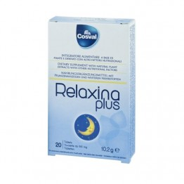 RELAXINA PLUS (ΓΙΑ ΒΕΛΤΙΩΣΗ ΤΗΣ ΔΙΑΘΕΣΗΣ ΚΑΙ ΤΟΥ ΥΠΝΟΥ) COSVAL 20tabs ΑΓΧΟΣ