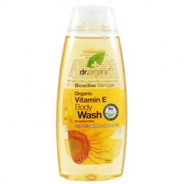 VITAMIN E ORGANIC BODY WASH 250ml