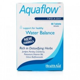 AQUAFLOW (WATER BALANCE SUPPORT) - (ΦΥΤΙΚΟ ΔΙΟΥΡΙΤΙΚΟ) HEALTH AID 60tabs