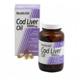 COD LIVER OIL (ΜΟΥΡΟΥΝΕΛΑΙΟ ΣΕ ΚΑΨΟΥΛΕΣ) HEALTH AID 1000mg 30caps