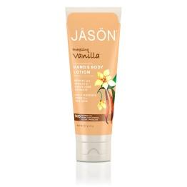 HAND & BODY LOTION ENERGIZING VANILLA (ΛΟΣΙΟΝ ΣΩΜΑΤΟΣ ΜΕ ΒΑΝΙΛΙΑ) JASON 227g JASON
