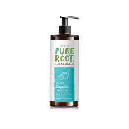 COCONUT OIL (ΕΛΑΙΟ ΚΑΡΥΔΑΣ) PURE ROOT 200ml ΛΑΔΙΑ ΒΑΣΕΙΣ