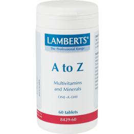 A-Z MULTI VITAMINS (ΠΟΛΥΒΙΤΑΜΙΝΟΥΧΑ ΦΟΡΜΟΥΛΑ) LAMBERTS 30tabs ΠΟΛΥΒΙΤΑΜΙΝΕΣ