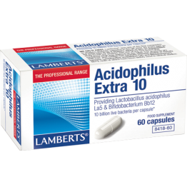 ACIDOPHILUS EXTRA 10 (ΠΡΟΒΙΟΤΙΚΟ) LAMBERTS 30caps ΠΡΟΒΙΟΤΙΚΑ