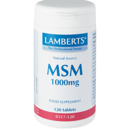 MSM (ΟΡΓΑΝΙΚΟ ΘΕΙΟ) LAMBERTS 1000mg 120tabs