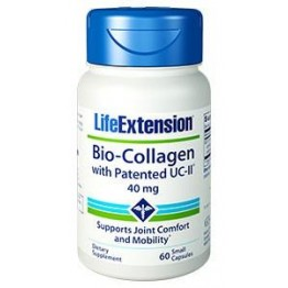 BIO-COLLAGEN w/PATENTED UC-II® (ΚΟΛΛΑΓΟΝΟ ΤΥΠΟΥ ΙΙ ΑΠΟ ΧΟΝΔΡΟ ΚΟΤΟΠΟΥΛΟΥ) LIFE EXTENSION 40mg 60caps LIFE EXTENSION