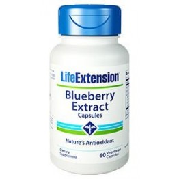 BLUEBERRY EXTRACT (ΕΚΧΥΛΙΣΜΑ ΜΠΛΟΥΜΠΕΡΥ) LIFE EXTENSION 60caps LIFE EXTENSION