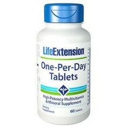 LIFE EXTENSION ONE-PER-DAY (ΠΟΛΥΒΙΤΑΜΙΝΟΥΧΑ ΦΟΡΜΟΥΛΑ) 60tabs LIFE EXTENSION