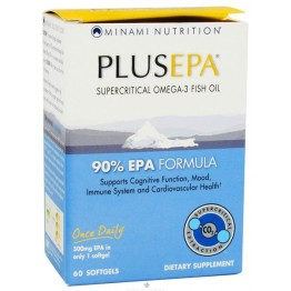 PLUS EPA (ΩΜΕΓΑ-3 ΛΙΠΑΡΑ ΟΞΕΑ ΚΑΙ ΕΙΔΚΑ EPA) MINAMI NUTRITION 60caps ΚΙΝΗΤΙΚΟΤΗΤΑ