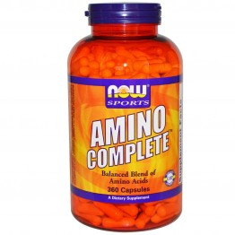 AMINO COMPLETE (ΜΙΓΜΑ ΑΜΙΝΟΞΕΩΝ) NOW SPORTS 750mg 360caps