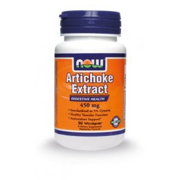 ARTICHOKE EXTRACT (ΕΚΧΥΛΙΣΜΑ ΑΓΚΙΝΑΡΑΣ) NOW FOODS 450mg 90vcaps