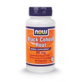 BLACK COHOSH NOW FOODS 80mg 90caps ΕΜΜΗΝΟΠΑΥΣΗ