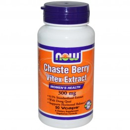 CHASTEBERRY/VITEX EXTRACT NOW FOODS 300mg 90vcaps ΕΜΜΗΝΟΣ ΚΥΚΛΟΣ