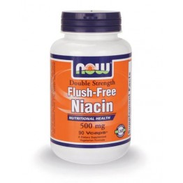 NIACIN FLUSH-FREE 2x 500mg NOW FOODS 90vcaps ΒΙΤΑΜΙΝΗ Β