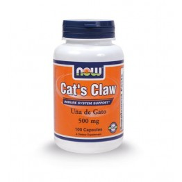 CAT'S CLAW NOW FOODS 500mg 100caps ΑΝΑΠΝΕΥΣΤΙΚΕΣ