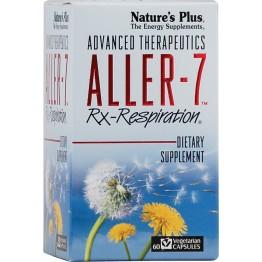 ALLER-7 Rx Respiration (ΒΟΤΑΝΙΚΗ ΦΟΡΜΟΥΛΑ ΓΙΑ ΤΗΝ ΑΛΛΕΡΙΚΗ ΡΙΝΙΤΙΔΑ) NATURE'S PLUS 60caps