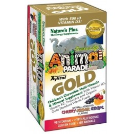 ANIMAL PARADE GOLD NATURE'S PLUS 60tabs ΣΥΜΠΛΗΡΩΜΑΤΑ