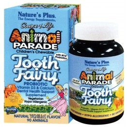 ANIMAL PARADE TOOTH FAIRY NATURE'S PLUS 90tabs