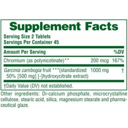 CITRIMATE NATURE'S PLUS 500mg 90tabs