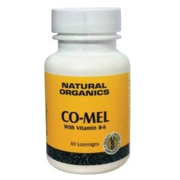 CO-MEL 3mg (MELATONIN) with B-6 NATURE'S PLUS 60lozenges