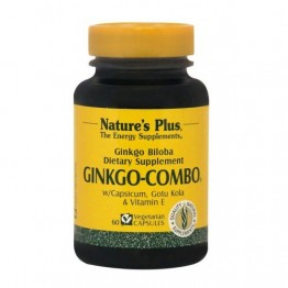 GINKGO-COMBO (ΣΥΝΕΡΓΙΚΟΣ ΣΥΝΔΥΑΣΜΟΣ ΜΕ ΓΚΙΝΓΚΟ ΜΠΙΛΟΜΠΑ) NATURE'S PLUS 60vcaps ΜΝΗΜΗ