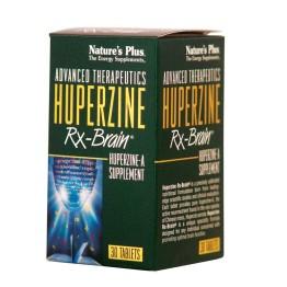 HUPERZINE Rx-Brain NATURE'S PLUS 30tabs
