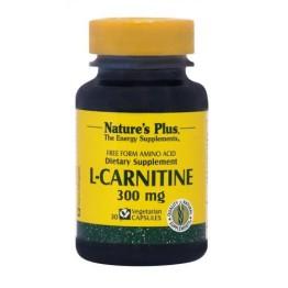 L-CARNITINE (L-ΚΑΡΝΙΤΙΝΗ) NATURE'S PLUS 300mg 30vcaps