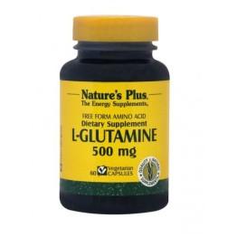 L-GLUTAMINE (L-ΓΛΟΥΤΑΜΙΝΗ) NATURE'S PLUS 500mg 60vcaps ΕΝΔΥΝΑΜΩΣΗ & ΑΝΑΠΛΑΣΗ
