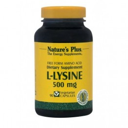 L-LYSINE (L-ΛΥΣΙΝΗ) NATURE'S PLUS 500mg 90vcaps ΟΣΤΕΟΠΟΡΩΣΗ