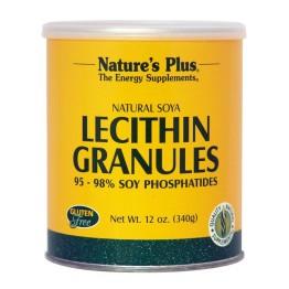 LECITHIN GRANULES (ΛΕΚΙΘΙΝΗ ΣΟΓΙΑΣ ΣΕ ΚΟΚΚΟΥΣ) NATURE'S PLUS 340gr ΧΟΛΗΣΤΕΡΙΝΗ - ΛΙΠΙΔΙΑ