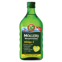 ΜΟΥΡΟΥΝΕΛΑΙΟ MÖLLER'S LEMON (COD LIVER OIL) 250ml