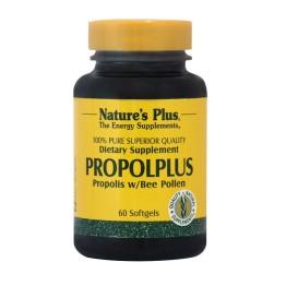 PROPOLPLUS (ΕΝΙΣΧΥΜΕΝΗ ΣΥΝΘΕΣΗ ΜΕ ΠΡΟΠΟΛΗ) NATURE'S PLUS 60caps