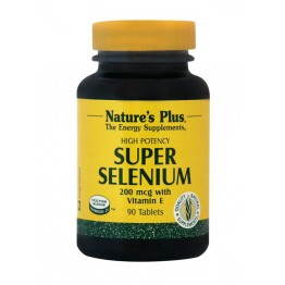 SUPER SELENIUM (ΣΕΛΗΝΙΟ) NATURE'S PLUS 200mcg 90tabs
