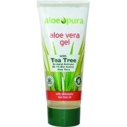 ALOE VERA GEL with TEA TREE (ΒΙΟΕΝΕΡΓΟ ΤΖΕΛ ΑΛΟΗΣ ΜΕ ΕΛΑΙΟ ΤΕΪΟΔΕΝΤΡΟΥ) OPTIMA 200ml