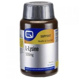 L-LYSINE (L-ΛΥΣΙΝΗ) QUEST 500mg 60tabs ΒΕΛΤΙΩΣΗ ΑΜΥΝΑΣ
