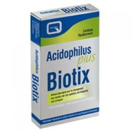 ACIDOPHILUS PLUS BIOTIX (ΣΥΝΘΕΣΗ ΠΡΟΒΙΟΤΙΚΩΝ ΒΑΚΤΗΡΙΩΝ) QUEST 30caps ΠΡΟΒΙΟΤΙΚΑ