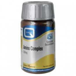 AMINO COMPLEX (ΣΥΝΔΥΑΣΜΟΣ 8 ΑΠΑΡΑΙΤΗΤΩΝ ΑΜΙΝΟΞΕΩΝ) QUEST 500mg 45tabs ΑΜΙΝΟΞΕΑ