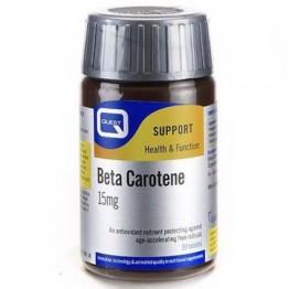 BETA CAROTENE (ΒΗΤΑ ΚΑΡΟΤΕΝΙΟ) QUEST 15mg 30tabs ΒΙΤΑΜΙΝΗ Α & D