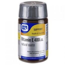 VITAMIN E (ΒΙΤΑΜΙΝΗ Ε) QUEST 400i.u. 30caps