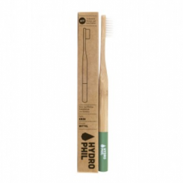SUSTAINABLE BAMBOO TOOTHBRUSH MEDIUM (ΟΔΟΝΤΟΒΟΥΡΤΣΑ ΑΠΟ BAMBOO HYDROPHIL) NATURAL  ROSVEDA
