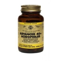 ADVANCED 40+ ACIDOPHILUS (ΠΡΟΒΙΟΤΙΚΗ ΦΟΡΜΟΥΛΑ ΓΙΑ ΑΤΟΜΑ ΑΝΩ ΤΩΝ 40 ΕΤΩΝ) SOLGAR veg.caps 60s ΠΡΟΒΙΟΤΙΚΑ