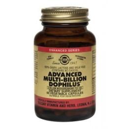 ADVANCED MULTI BILLION DOPHILUS (ΠΡΟΒΙΟΤΙΚΗ ΦΟΡΜΟΥΛΑ) SOLGAR veg.caps 60s ΠΡΟΒΙΟΤΙΚΑ