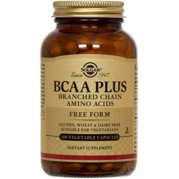BCAA PLUS (ΑΜΙΝΟΞΕΑ ΔΙΑΚΛΑΔΙΣΜΕΝΗΣ ΑΛΥΣΟΥ) SOLGAR veg.caps 50s ΕΝΔΥΝΑΜΩΣΗ & ΑΝΑΠΛΑΣΗ