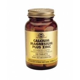 CALCIUM MAGNESIUM PLUS ZINC (ΧΡΗΣΙΜΟ ΣΥΜΠΛΗΡΩΜΑ ΣΕ ΠΕΡΙΠΤΩΣΕΙΣ ΕΜΜΗΝΟΠΑΥΣΗΣ) SOLGAR tabs 100s